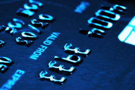 Credit card with shallow DOF Stock Photo - 3109225