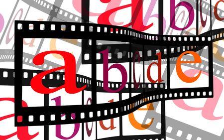 ABC Alphabet letters film