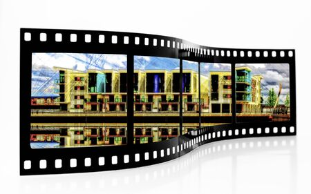 Film Strip Zdjęcie Seryjne