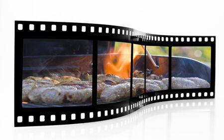 Barbecue Film Strip