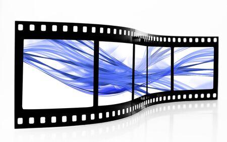 Blue Smoke Film Strip