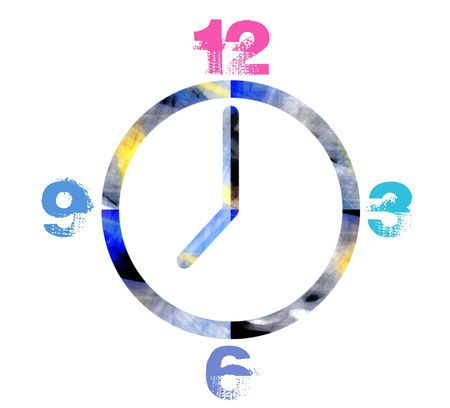 Funky Clock photo