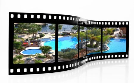Swimming Pool Film Strip