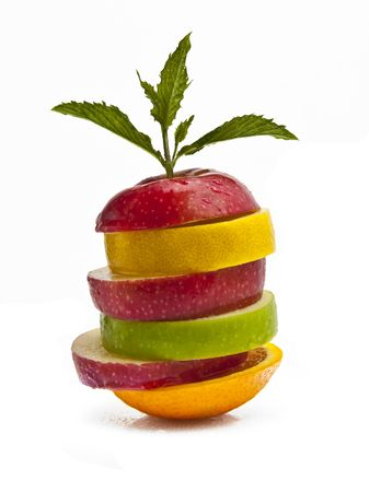 Mixed Fruit Salad Stock Photo - 5106115
