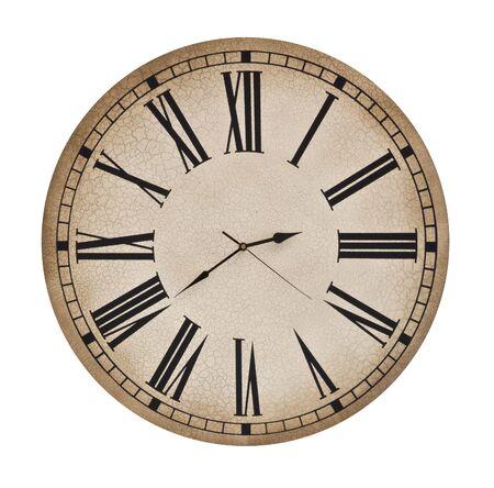 Antique looking clock face