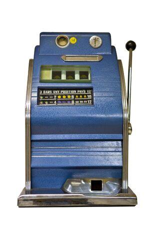 slot machine: Old Slot Machine  Stock Photo