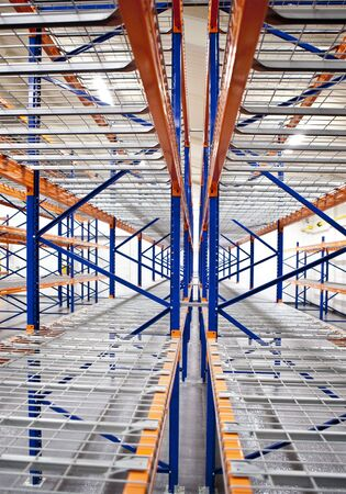 stow: empty warehouse racks