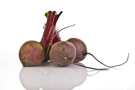 Beet root on a white background Stock Photo - 6199366