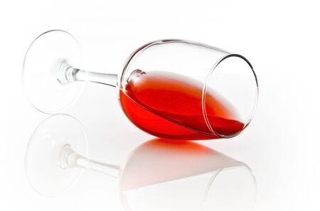 D�versement de vin rouge