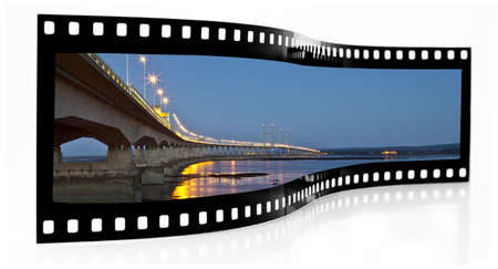 bridging: Second Severn Crossing film strip