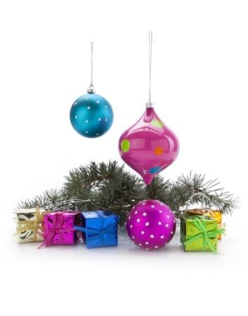 Christmas decoration on a white background Stock Photo - 11309204
