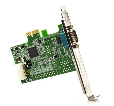 pci card: PCI Card on a white background  Editorial