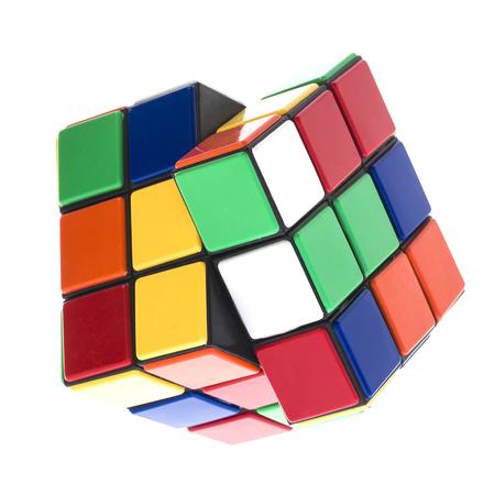 rubik: SWINDON, UK - SEPTEMBER 14, 2014:  Rubik