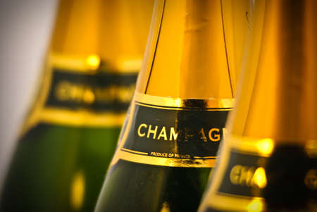 Champagne bottles Stock Photo - 5866100