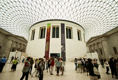 The Great Court, British Museum, London. Picture taken 2010-07-12