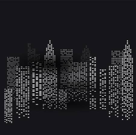 new york at night Vector