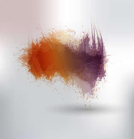 contemporary design: ink splashes