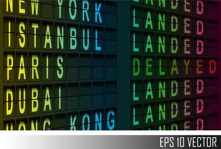 departure: airport departure display
