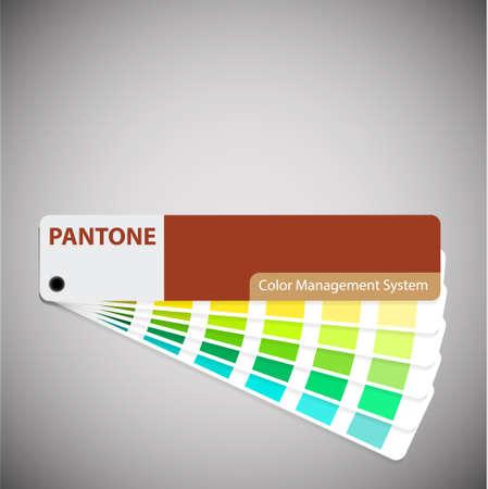 color swatch book: pantone