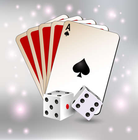 playing cards: along with dice games, playing cards