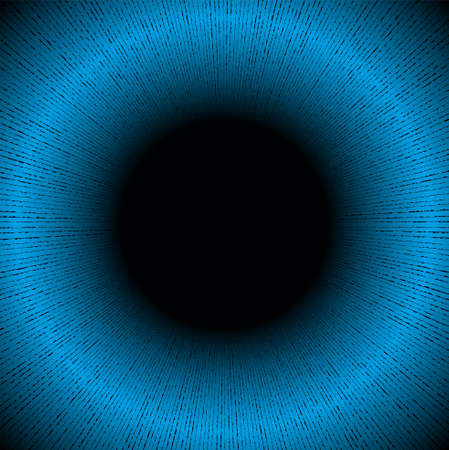 Abstract Technology Blue Circles Background Vector