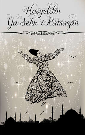 whirling: calligraphy dervish and istanbul mosques