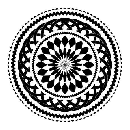 moroccan: circular pattern Illustration