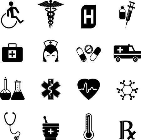 Medical Icons Фото со стока - 25402120