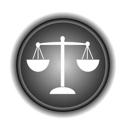 truthfulness: Scales of Justice, vector