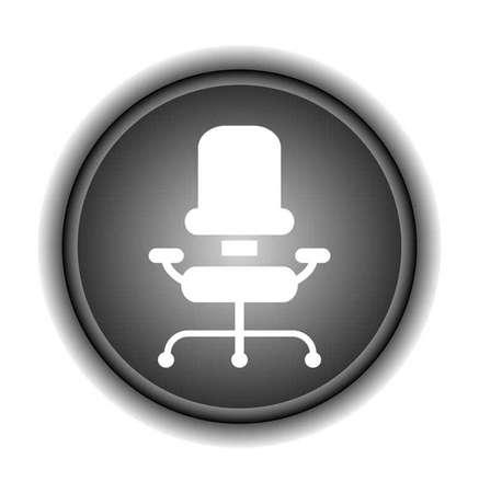 chair vector: sedia da ufficio - illustrazione vettoriale