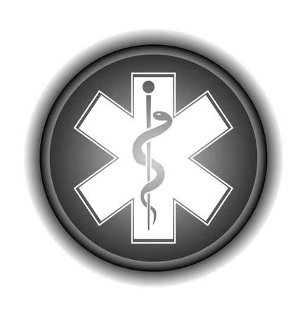 Emergency Medicine Symbol  vector illustration   Vector
