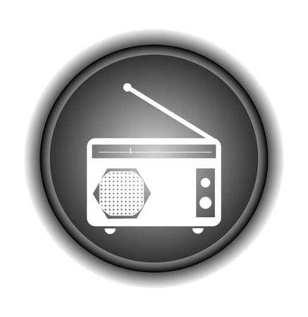 restyled: Radio symbol,Vector