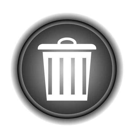 Trashcan icon-Vector