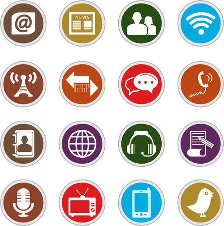 hands free device: communication icons