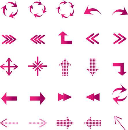 reusable: Arrows icons set