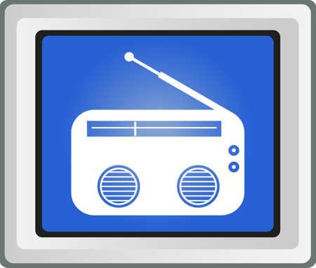 restyled: Radio symbol, Vector