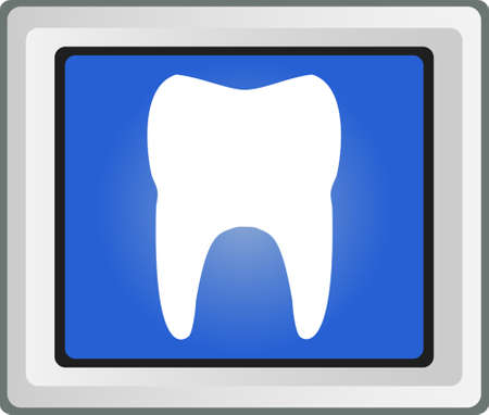vector symbol: tooth vector symbol