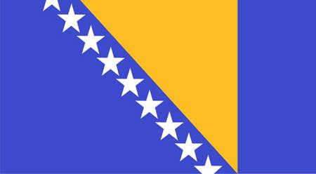 herzegovina: Bosnia and Herzegovina Flag
