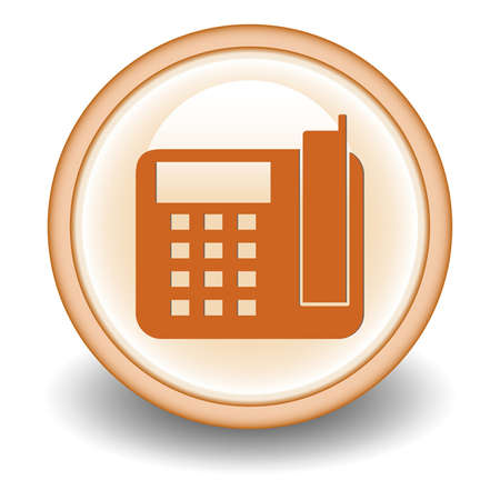 Office phone - Vector icon  Vector