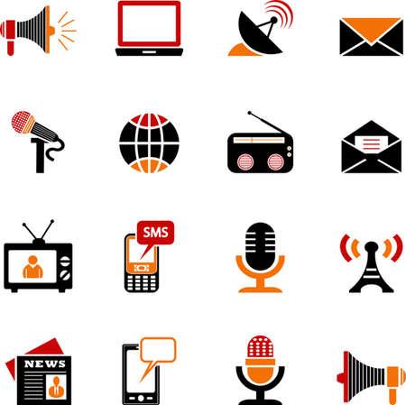 Media Icons Ilustração
