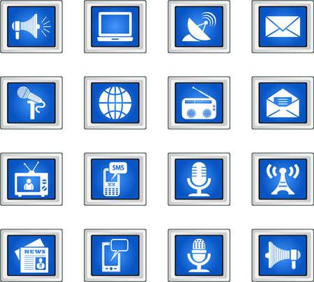 Media Icons Vector