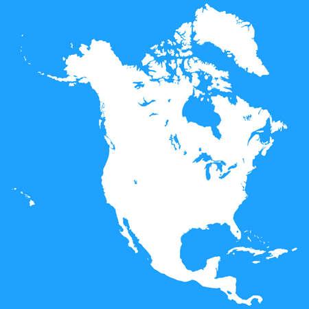 panama flag: North America Map