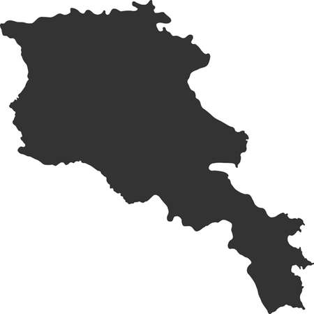 lake district: map of Armenia
