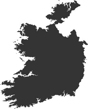 vector map of Ireland