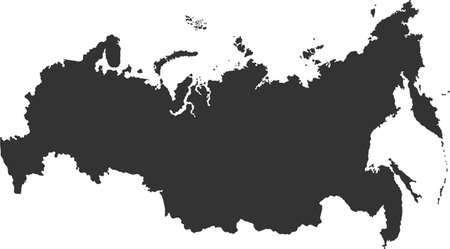 cray: map of russia
