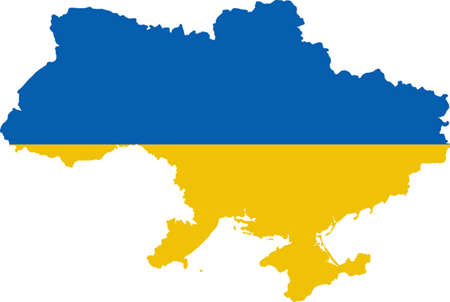 worldrn: Map and flag of Ukraine