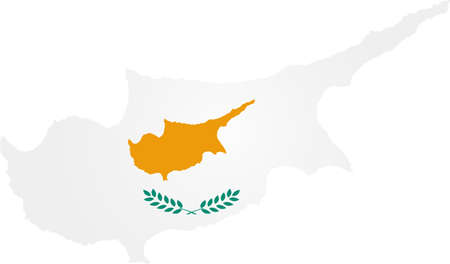 worldrn: Map and flag of Cyprus
