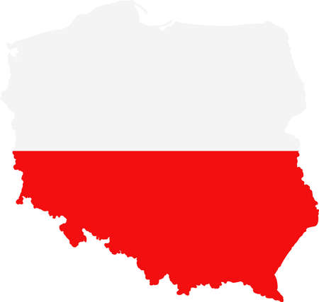 worldrn: Map and flag of Poland