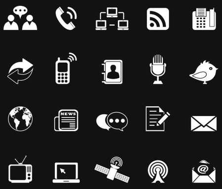 komunikacja: Ikony komunikacji