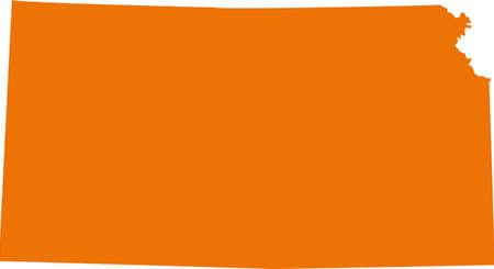 orange county: Kansas Map